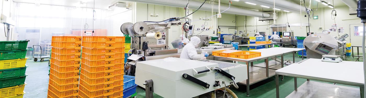 新技術と製造管理を追求
